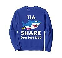 Tia Shark Doo Doo Doo Matching Family Shirts Sweatshirt Royal Blue