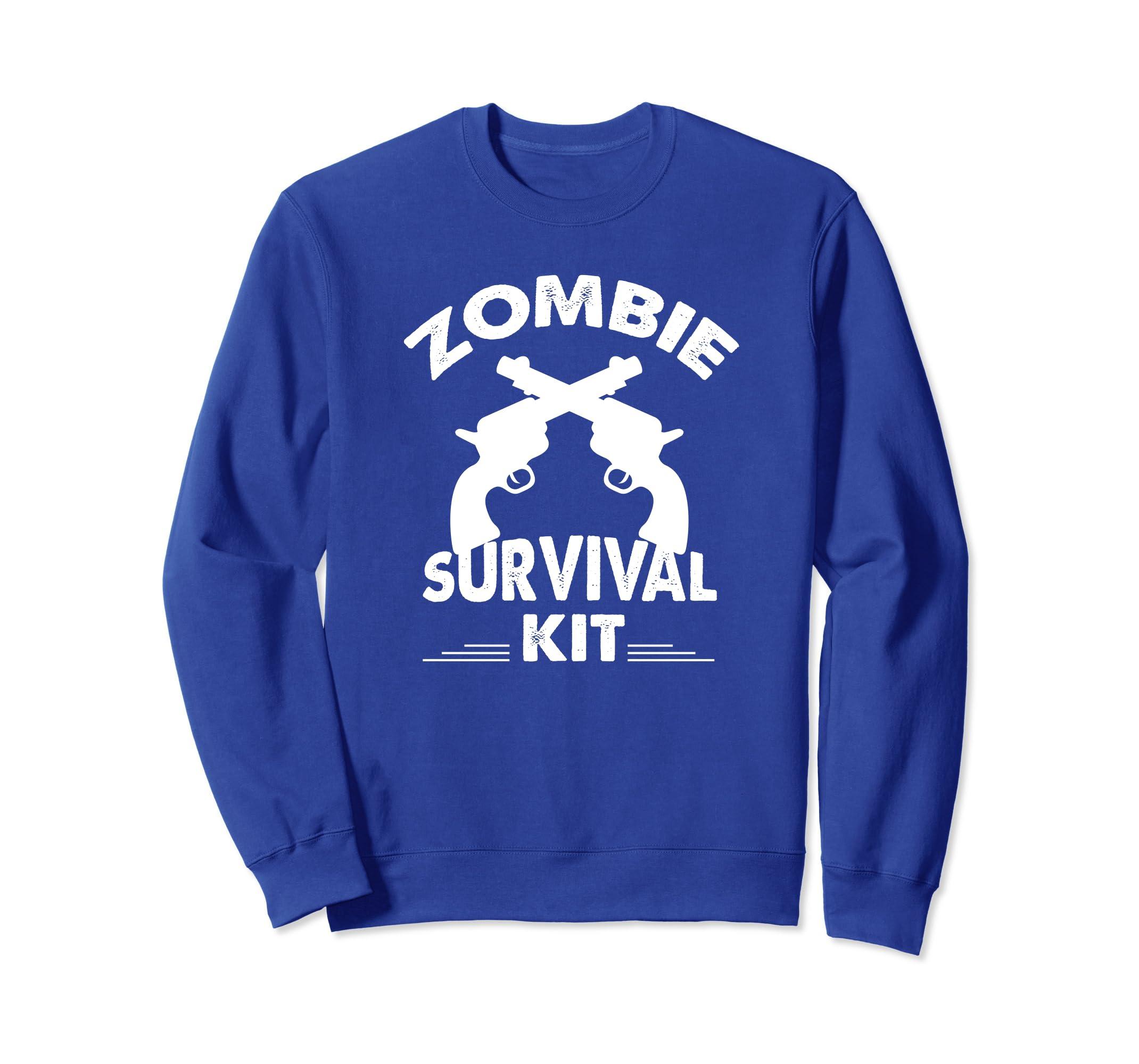Zombie Survival Sweatshirt-SFL