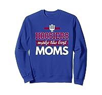 Indiana Hoosiers Indiana University Best Moms Shirts Sweatshirt Royal Blue