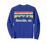 Lincoln Nebraska Shirt Sweatshirt Royal Blue