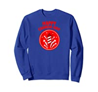 Happy Canada Day Fireworks Raglan Baseball Ts Shirts Sweatshirt Royal Blue