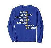Grandma Crossword Definition Meaning Nana Funny Gift Shirt Sweatshirt Royal Blue