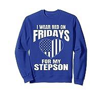 Deployed Stepson Homecoming Shirts Sweatshirt Royal Blue