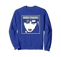 Siouxsie And The Banshees Siouxsie Sioux T Shirt Sweatshirt Royal Blue