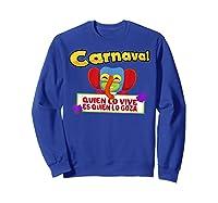 Carnaval De Barranquilla Marimonda T Shirt Sweatshirt Royal Blue
