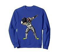Football Dabbing T Shirt Funny Gray Navy Neon Green  Sweatshirt Royal Blue