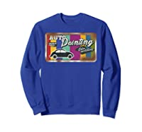 Auto Painting Old Stuff Rusty Sign T Shirt Gift For Pickers Sweatshirt Royal Blue