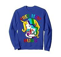 Free Mom Hugs Lgbt Gay Pride T-shirt Sweatshirt Royal Blue
