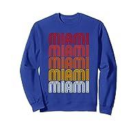 Miami Miami Miami T-shirt Sweatshirt Royal Blue
