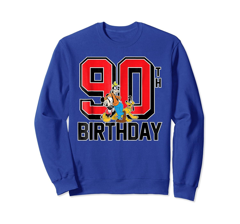 Disney Birthday Group 90th T Shirt Crewneck Sweater