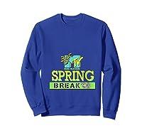 Best Of Mtv Spring Break 93 Classic Logo T-shirt Sweatshirt Royal Blue