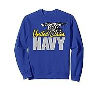U.s. Navy Seals Team Gift Proud Usn Seal T-shirt Sweatshirt Royal Blue