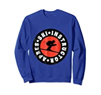 Apres Ski Skiing Instructor T Shirt Usa, France Lover Gift Sweatshirt Royal Blue