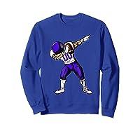 Football Dabbing T Shirt Funny Purple  Sweatshirt Royal Blue