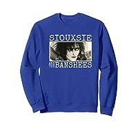 Siouxsie And The Banshees Siouxsie Sioux Premium T Shirt Sweatshirt Royal Blue