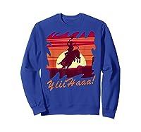 Rodeo 2019 T Shirt Houston Rodeo Cowboy Yiiihaaa Sweatshirt Royal Blue