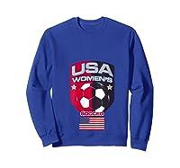 Soccer 2019 Usa Team Championship Cup Shirts Sweatshirt Royal Blue