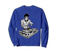 Bruce Dj By Bruce Shirts Sweatshirt Royal Blue