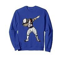 Football Dabbing T Shirt Funny Blue Gray Red  Sweatshirt Royal Blue
