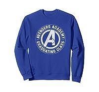 Marvel Avengers Academy Graduating Class Of 2019 Premium T-shirt Sweatshirt Royal Blue