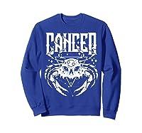 Cancer Hearth Kitchen Witch Shirt Skull Constellation Sweatshirt Royal Blue