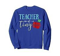 Tea Of Tiny Humans Best Tea Gift Shirts Sweatshirt Royal Blue