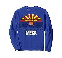 Mesa Arizona T Shirt Az Group City Silhouette Flag Tee Gift Sweatshirt Royal Blue