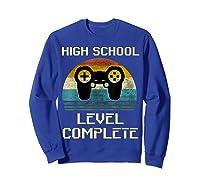 2019 High School Graduation Shirt Gamer Graduation Gifts-min Sweatshirt Royal Blue