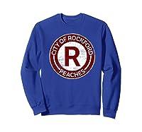 Baseball Tshirt Rockford Peaches Shirt Feminist Graphic Tees Sweatshirt Royal Blue