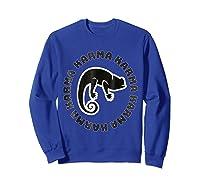 Chameleon Karma 80 S Retro 1980 S Pop Club Culture Shirts Sweatshirt Royal Blue