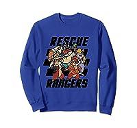 Disney Comic Crew T Shirt Sweatshirt Royal Blue