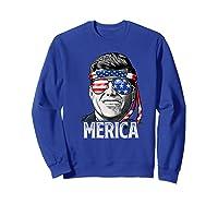 Kennedy Merica 4th Of July President Jfk Gifts Shirts Sweatshirt Royal Blue