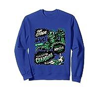 Vintage Halloween Killer Monster Horror Gift Shirts Sweatshirt Royal Blue
