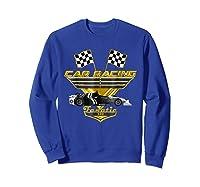 Car Racing Fanatic 500 Miles T Shirt Golden Edition Sweatshirt Royal Blue