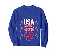 2019 Soccer Usa Team France Cup Tournat Shirts Sweatshirt Royal Blue