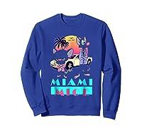 Miami Mice Shirts Sweatshirt Royal Blue