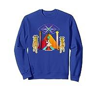 Rick And Morty Holy Rick Shirts Sweatshirt Royal Blue