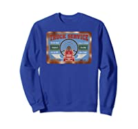 Truck Service Old Stuff Rusty Sign T Shirt Gift For Pickers Sweatshirt Royal Blue