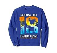 Pa City Beach 2018 Florida T Shirt Beach Lovers Gift Sweatshirt Royal Blue
