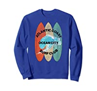 Atlantic Coast Surf Club Ocean City New Shirt T Shirt Sweatshirt Royal Blue