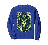 Lion King Evil Scar Graphic Shirts Sweatshirt Royal Blue