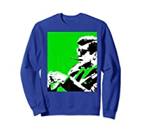John F Kennedy 35th President - Jfk Smoking Cigar Blunt Premium T-shirt Sweatshirt Royal Blue