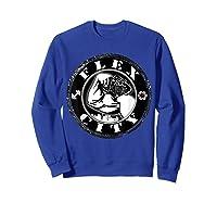 Flex City Feed Me More Nutrition T Shirt Sweatshirt Royal Blue