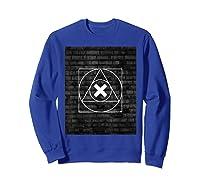 Playstation Playstation Woodcut 2 Shirts Sweatshirt Royal Blue