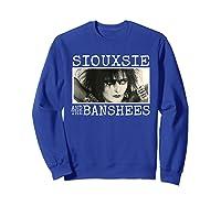 Siouxsie And The Banshee Siouxsie Sioux T Shirt Sweatshirt Royal Blue
