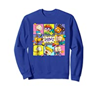 Rugrats Retro Box T-shirt Sweatshirt Royal Blue