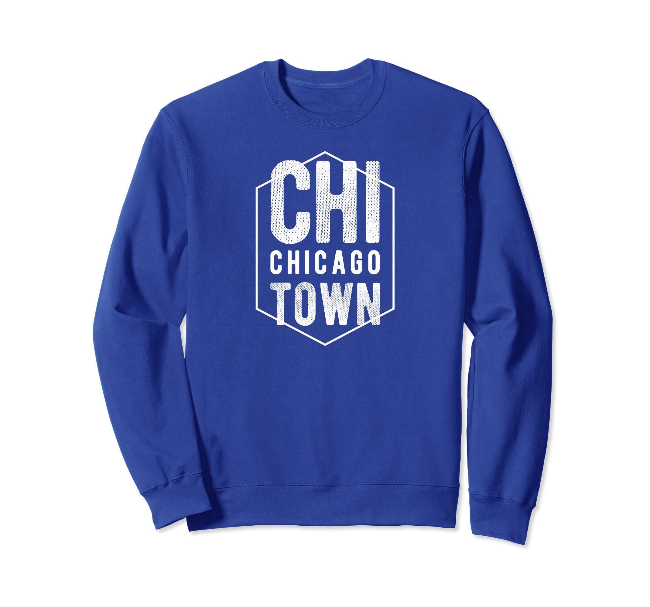 Classic Chicago ChiTown Badge Gift Sweatshirt-azvn