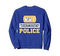Thermostat Police T-shirt Sweatshirt Royal Blue