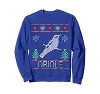 Oriole Christmas Shirts Sweatshirt Royal Blue