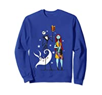 Disney Nightmare Gift T Shirt Sweatshirt Royal Blue